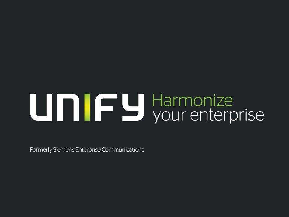 12 Faça uso da abrangência, e escala de nossos serviços Copyright © Unify GmbH & Co.