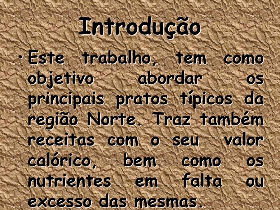 Brasil – Diversidade Culinária Pratos típicosPratos típicos No Brasil, as comidas regionais são muito variadas de Estado para Estado, justamente por sua grande extensão e sua colonização, o que dá uma variedade enorme de ingredientes e sabores.