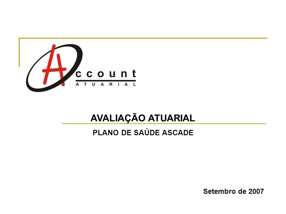 Setembro de 2007 AVALIAÇÃO ATUARIAL PLANO DE SAÚDE ASCADE