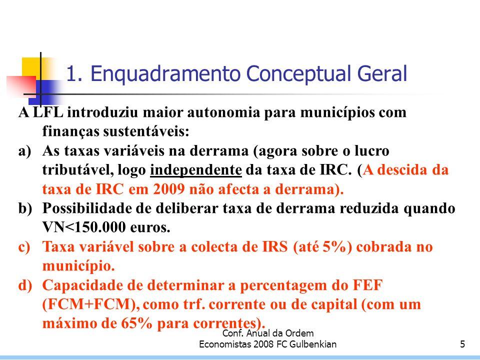 Conf.Anual da Ordem Economistas 2008 FC Gulbenkian16 7.