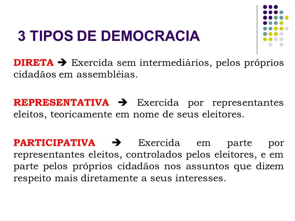 COMO APRIMORAR A DEMOCRACIA Trabalhar com as diferenças e conflitos.