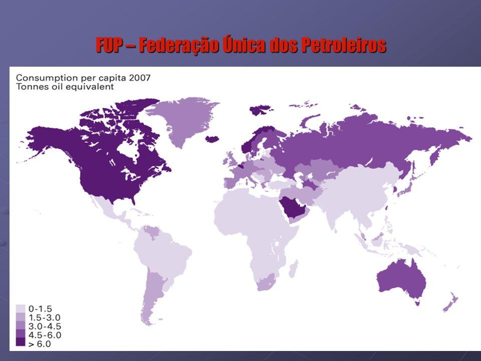 10 Consumo de Energia Per-Capta - 2008 PaísConsumo de Energia (1)% Consumo MundialPopulaçãoConsumo Per-Capta (1)Maiores Consumidores Per-Capta EUA 2.299.000.000 20,4 304.228.257 7,562º China 2.002.500.000 17,7 1.330.044.605 1,5118º Russia 684.600.000 6,1 140.702.094 4,876º Japão 507.500.000 4,5 127.288.419 3,998º India 433.300.000 3,8 1.147.995.898 0,3821º Canada 329.800.000 2,9 33.212.696 9,931º Alemanha 311.100.000 2,8 82.369.548 3,789º França 257.900.000 2,3 64.057.790 4,037º Corea do Sul 240.100.000 2,1 48.379.392 4,965º Brasil 228.100.000 2,0 196.342.587 1,1619º Inglaterra 211.600.000 1,9 60.943.912 3,4711º Irã 192.100.000 1,7 65.875.223 2,9213º Italia 176.600.000 1,6 58.145.321 3,0412º Arábia Saudita 174.500.000 1,5 28.146.657 6,203º México 170.400.000 1,5 109.955.400 1,5517º Espanha 143.900.000 1,3 40.491.051 3,5510º Ucránia 131.500.000 1,2 45.994.287 2,8614º Africa do Sul 132.300.000 1,2 48.782.755 2,7115º Indonésia 124.400.000 1,1 237.512.355 0,5220º Austrália 118.300.000 1,0 21.007.310 5,633º Tailandia 112.000.000 1,0 65.493.298 1,7116º (1) Toneladas de óleo equivalente Fonte: BP