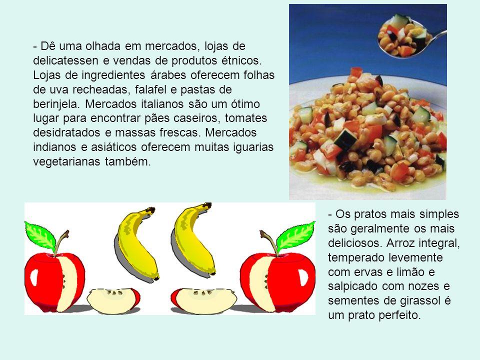 - A proteína vegetal texturizada (PVT) é livre de gorduras, tem a mesma consistência da carne moída e fica muito bem em vários pratos. Procure nas loj