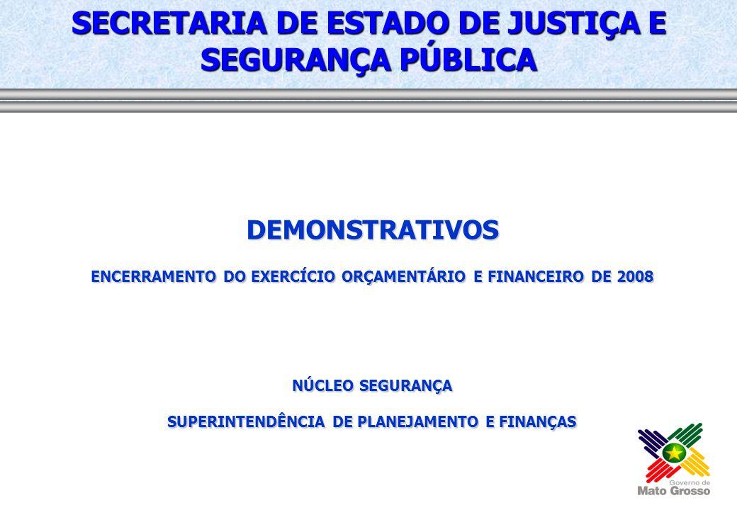 2006 - MANUTENÇÃO DE SERVIÇOS DE TRANSPORTES Responsável: Alessandro Ferreira da Silva Objetivo: MANTER A FROTA DE VEICULOS UTILIZADA PELO ÓRGÃO META ProdutoUnidadeQuantidadePrazo Região de Planejamento Valor Ação Mantida Percentual100,00 01/01 até 31/12/2009 R$ 43.068.070,66 2007 - MANUTENÇÃO DE SERVIÇOS ADMINISTRATIVOS GERAIS Responsável: Dalton Luiz de Magalhães Objetivo: GARANTIR A MANUTENÇÃO E SUPORTE DAS ATIVIDADES ADMINISTRATIVAS NOS ÓRGÃO/ENTIDADES META ProdutoUnidadeQuantidadePrazo Região de Planejamento Valor Ação Mantida Percentual100,00 01/01 até 31/12/2009 R$ 19.365.074,16