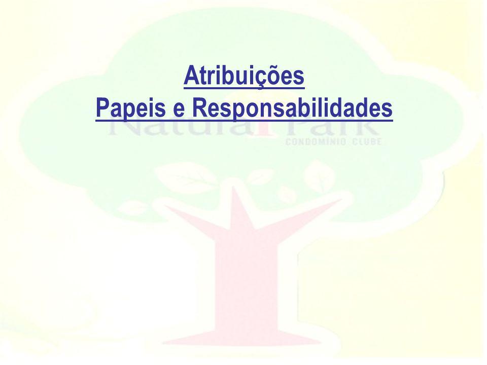 Atribuições Papeis e Responsabilidades