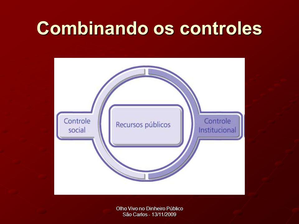 Combinando os controles
