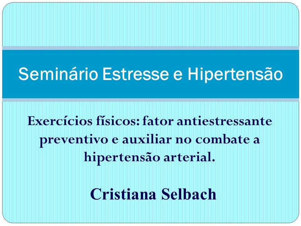 É caracterizada pelo aumento da pressão arterial, tendo como causas a hereditariedade, a obesidade, o sedentarismo, o alcoolismo, o estresse entre outras.