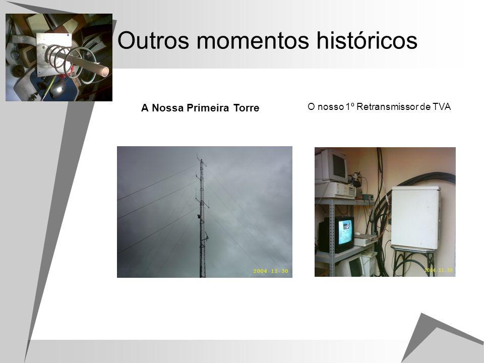 Momentos Históricos - Repetidor Emissor de TVA 1,2 Ghz Repetidores de U e VHF (reserva)
