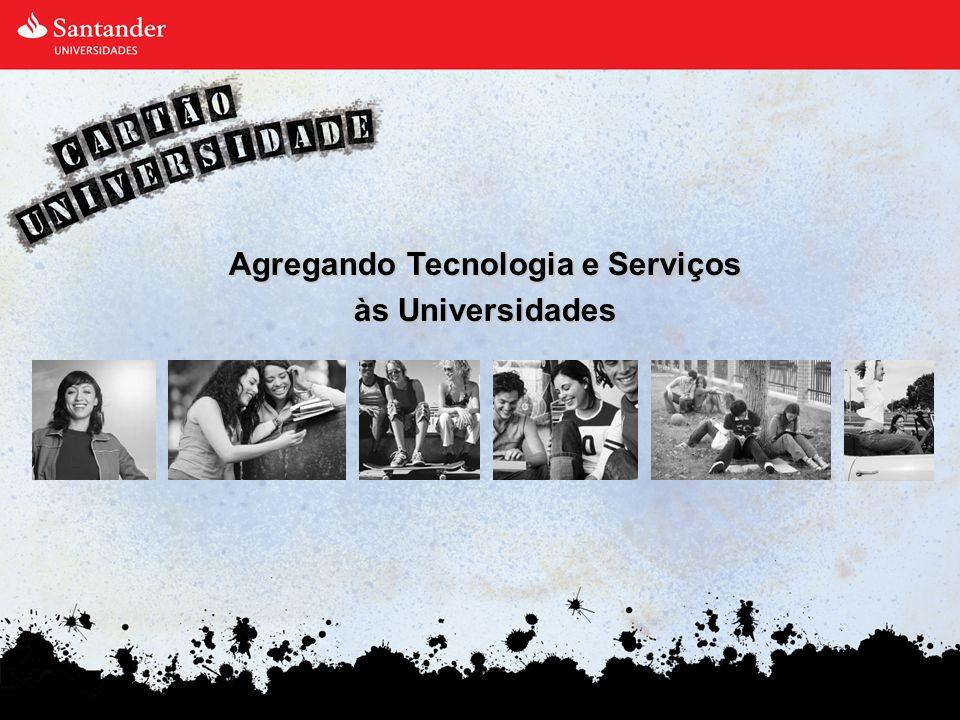 Cartão Universidade - História Em 1995, o Grupo Santander lançou um serviço inovador: O Cartão Universidade.
