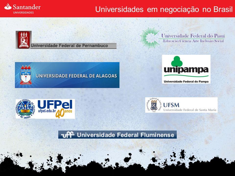 Universidades em negociação no Brasil