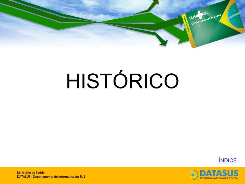 HISTÓRICO ÍNDICE 1961 - Edward Catete Pinheiro, Ministro da Saúde no governo de Jânio Quadros: Necessidade de um sistema que permita conhecer como cada cidadão tem atendidas suas necessidades de saúde, de forma organizada e individualizada.