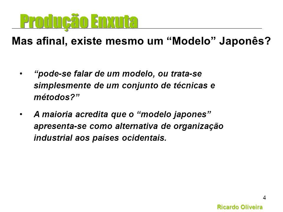 Ricardo Oliveira 4 pode-se falar de um modelo, ou trata-se simplesmente de um conjunto de técnicas e métodos? A maioria acredita que o modelo japones