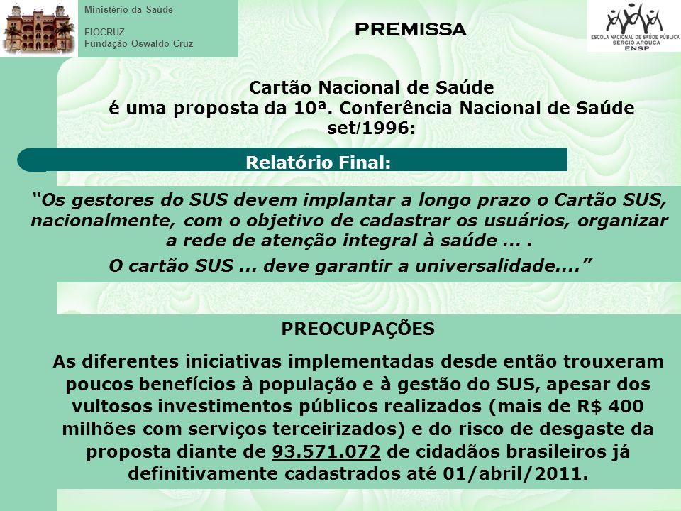 Ministério da Saúde FIOCRUZ Fundação Oswaldo Cruz Uma escrita mútua (Eschers)