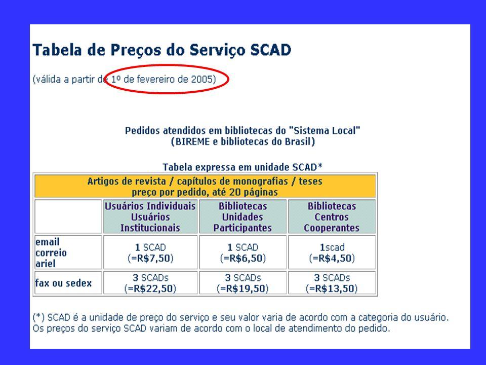 Para usar o serviço, é necessário ter código e senha Novos usuários R$ 20,00 inscrição