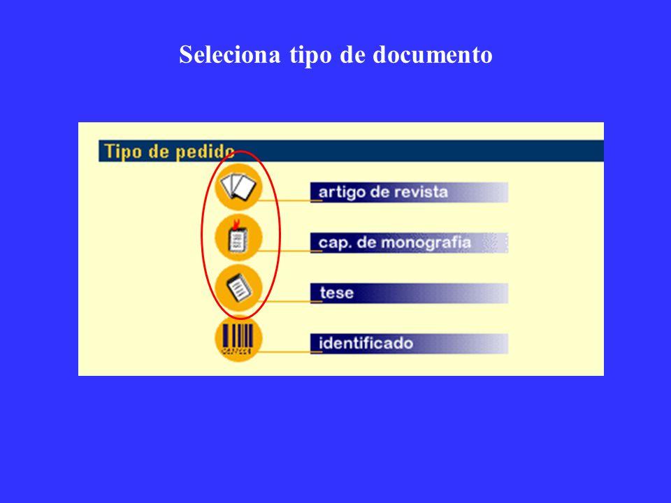 O pedido específico é mostrado, com a informação de status do pedido no SCAD