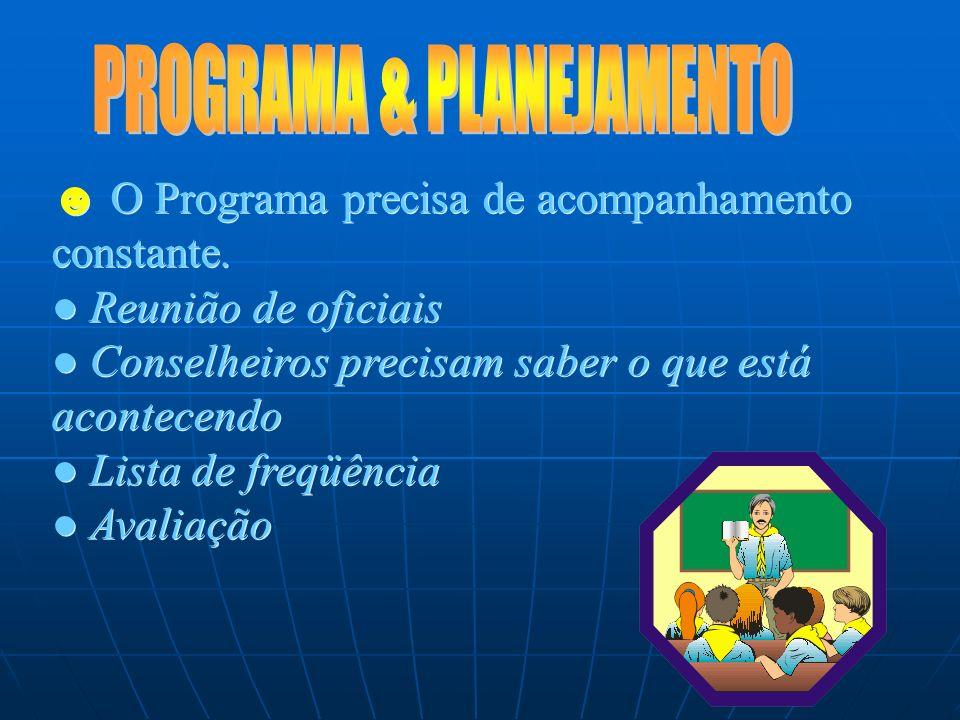 O Programa precisa de clareza acerca de seu propósito e público em potencial Nosso alvo:Desbravadores (10-15 anos) Objetivo: Salvação e serviço O Prog
