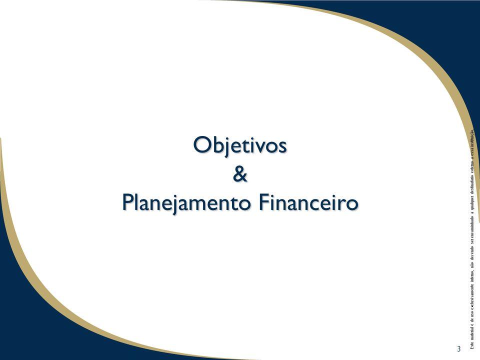 3 3 Objetivos & Planejamento Financeiro