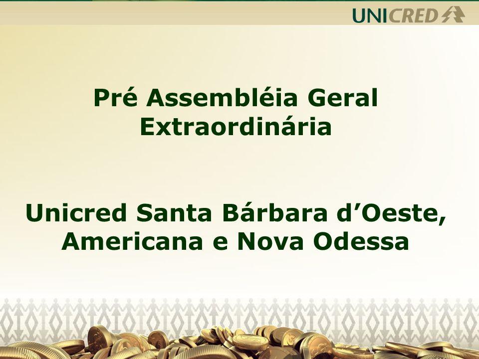 Unicred Santa Bárbara dOeste, Americana e Nova Odessa.