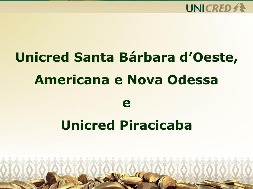 PIRACICABA 01 Agências em Piracicaba; - 504 Cooperados.