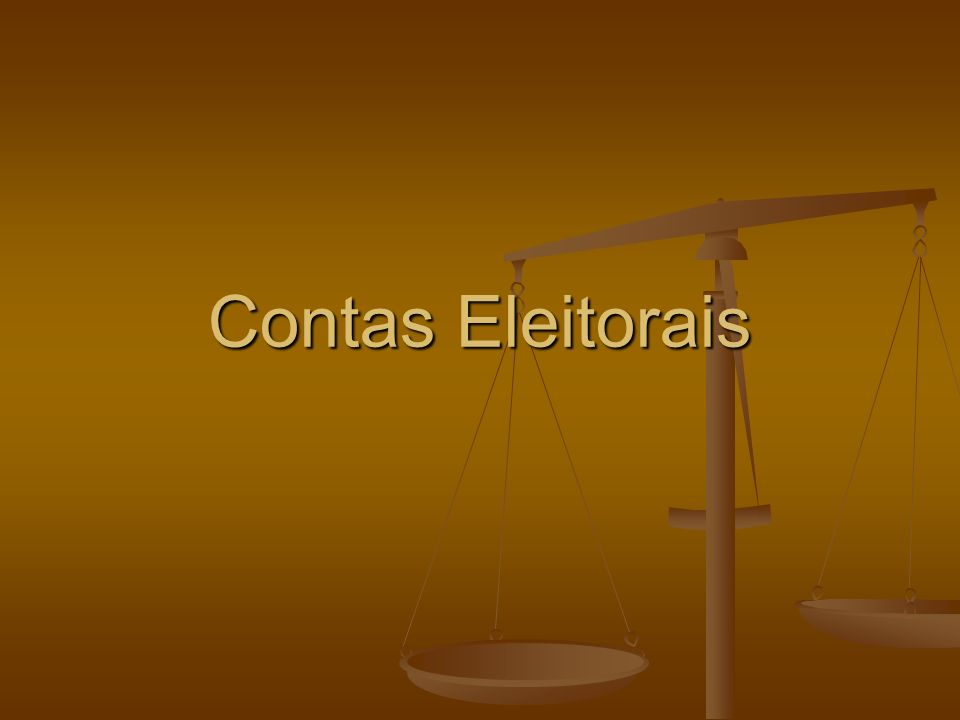 Contas Eleitorais