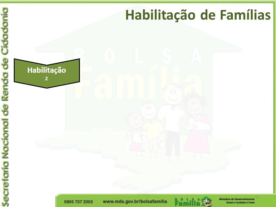 Habilitação de Famílias 15 Habilitação 2