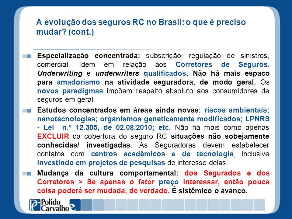 A evolução dos seguros RC no Brasil: o que é preciso mudar.