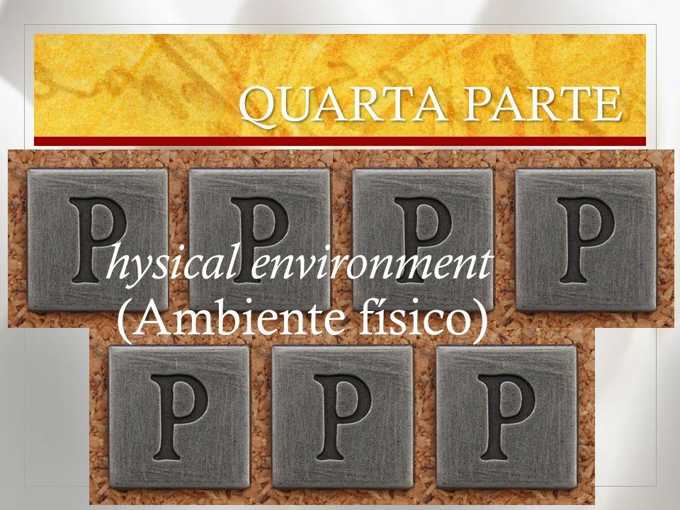 QUARTA PARTE hysical environment (Ambiente físico)