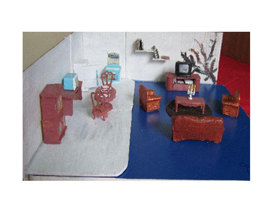 Cozinha e sala de visitas