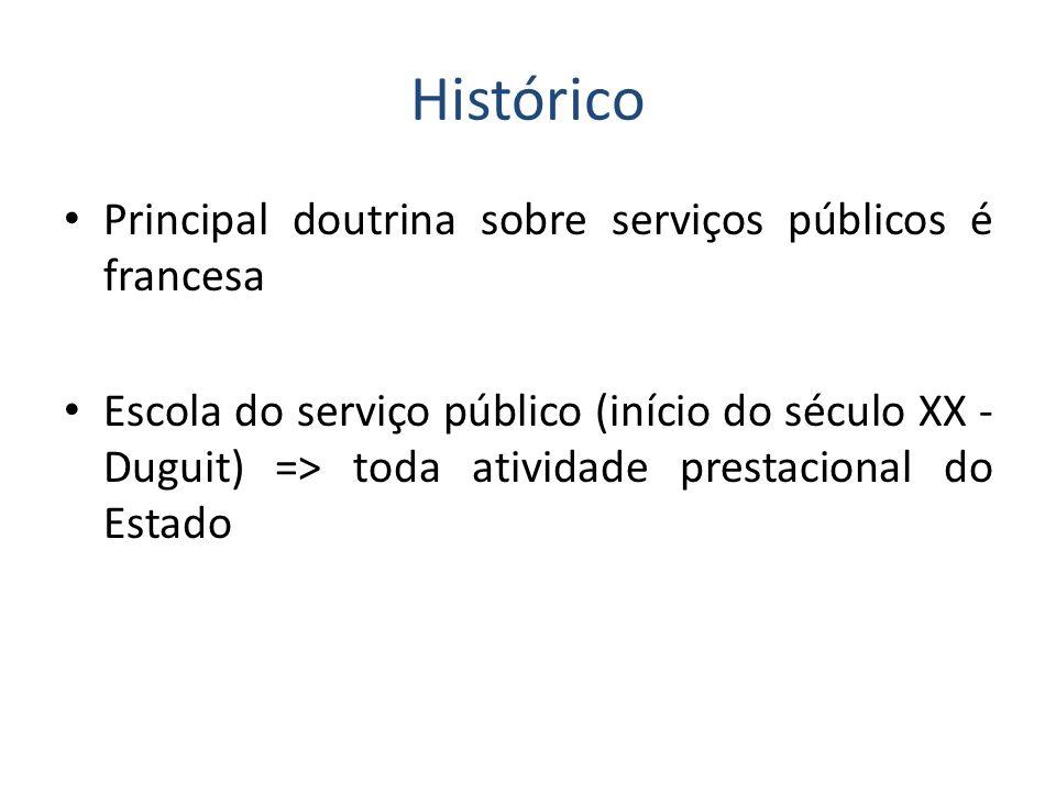 Serviços públicos na CF/88 Art.25.