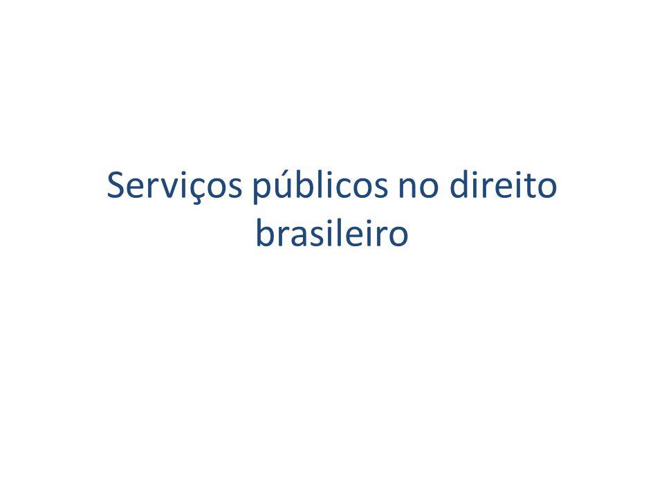 Serviços públicos na CF/88 Saúde Art.197.