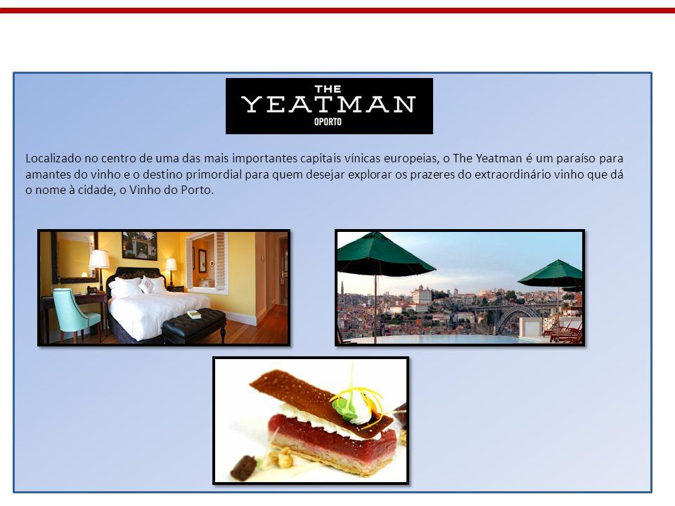 Localizado no centro de uma das mais importantes capitais vínicas europeias, o The Yeatman é um paraíso para amantes do vinho e o destino primordial p
