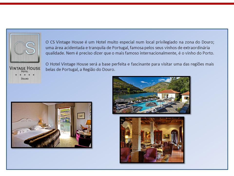 O CS Vintage House é um Hotel muito especial num local privilegiado na zona do Douro; uma área acidentada e tranquila de Portugal, famosa pelos seus v