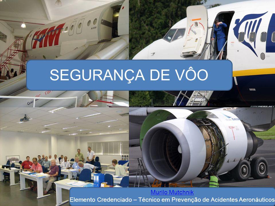 Credenciais do SIPAER FATOR MATERIAL 1) Certificação Aeronáutica 2) Fabricação de aeronaves e seus componentes.