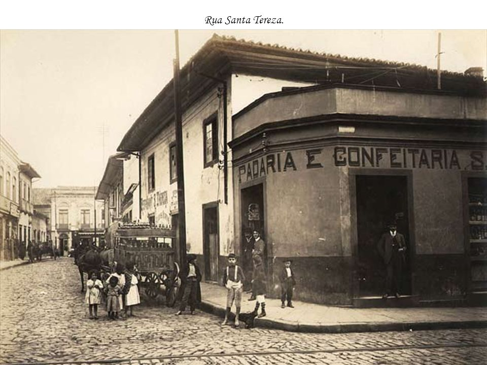 Rua Santa Tereza.