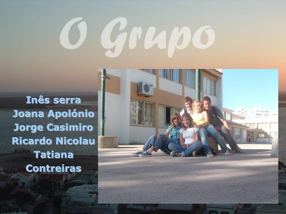 Inês serra Joana Apolónio Jorge Casimiro Ricardo Nicolau Tatiana Contreiras