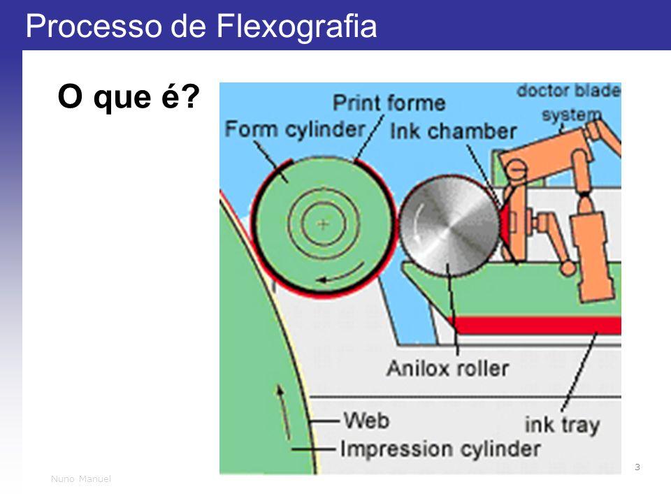 Processo de Flexografia 3 Nuno Manuel O que é?