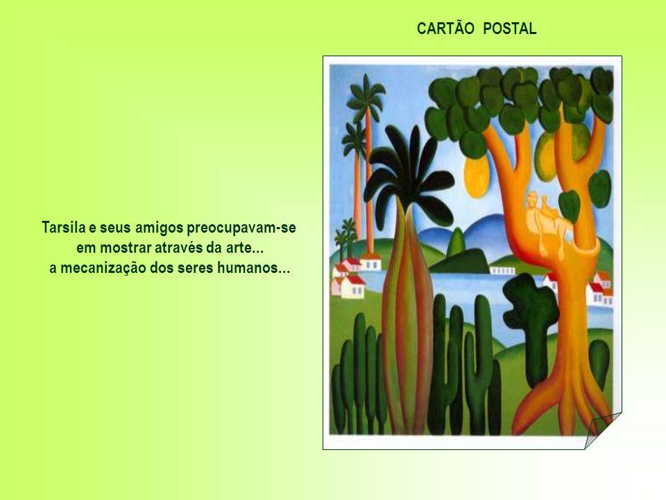 Fundaram o grupo dos Cinco Modernistas - Menotti del Picchia... Mario de Andrade... Oswald de Andrade e Anita Malfatti Tela criada por ANITA MALFATTI
