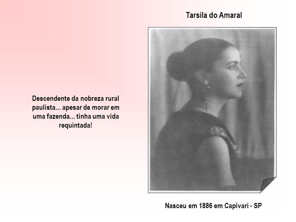 TARSILA DO AMARALOSWALD DE ANDRADE Revolucionários da Arte no Brasil! Clicar