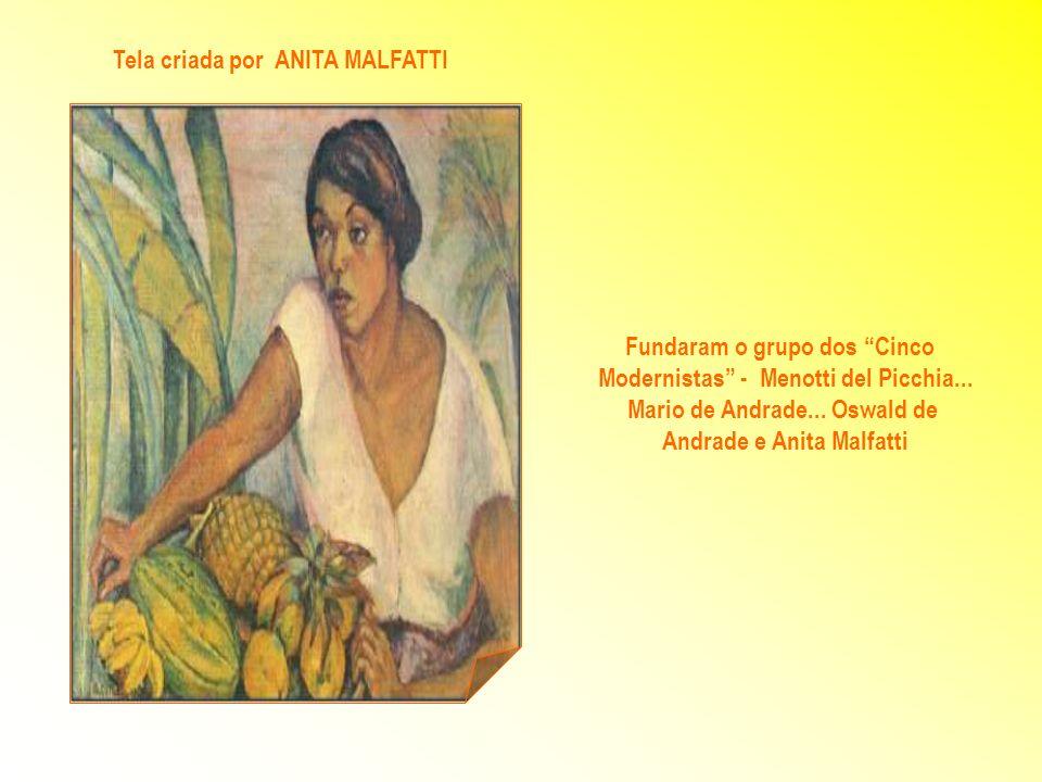 Tarsila passou a integrar o mundo artístico... quando foi aceita no Salão da Sociedade dos Artistas Franceses em 1922. SONO