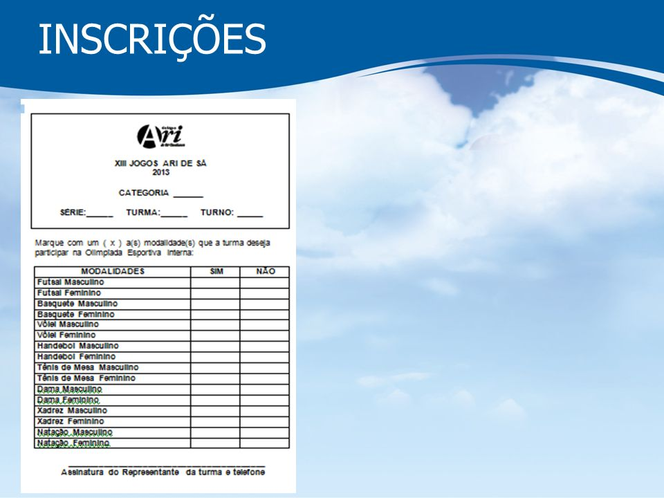 PESSOAS QUE DISPONIBILIZARAM PARA FAZER UNIFORMES: PAULO – 8796.3096 ROMULO – 3262.5390/8868.8068 RAFAEL - 88291835