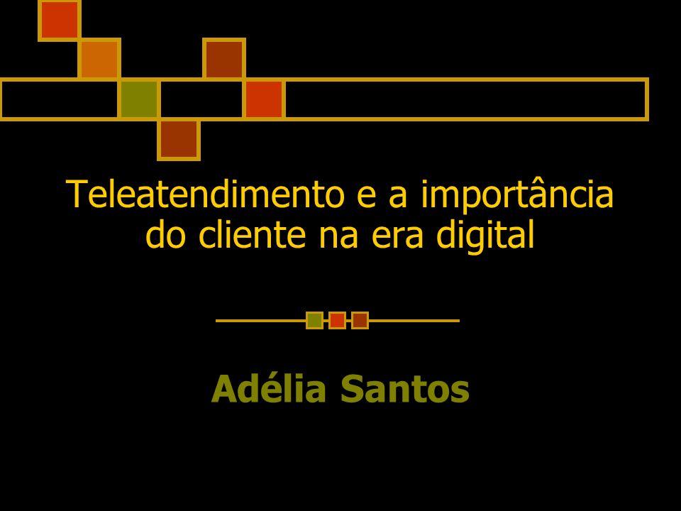Teleatendimento e a importância do cliente na era digital Adélia Santos