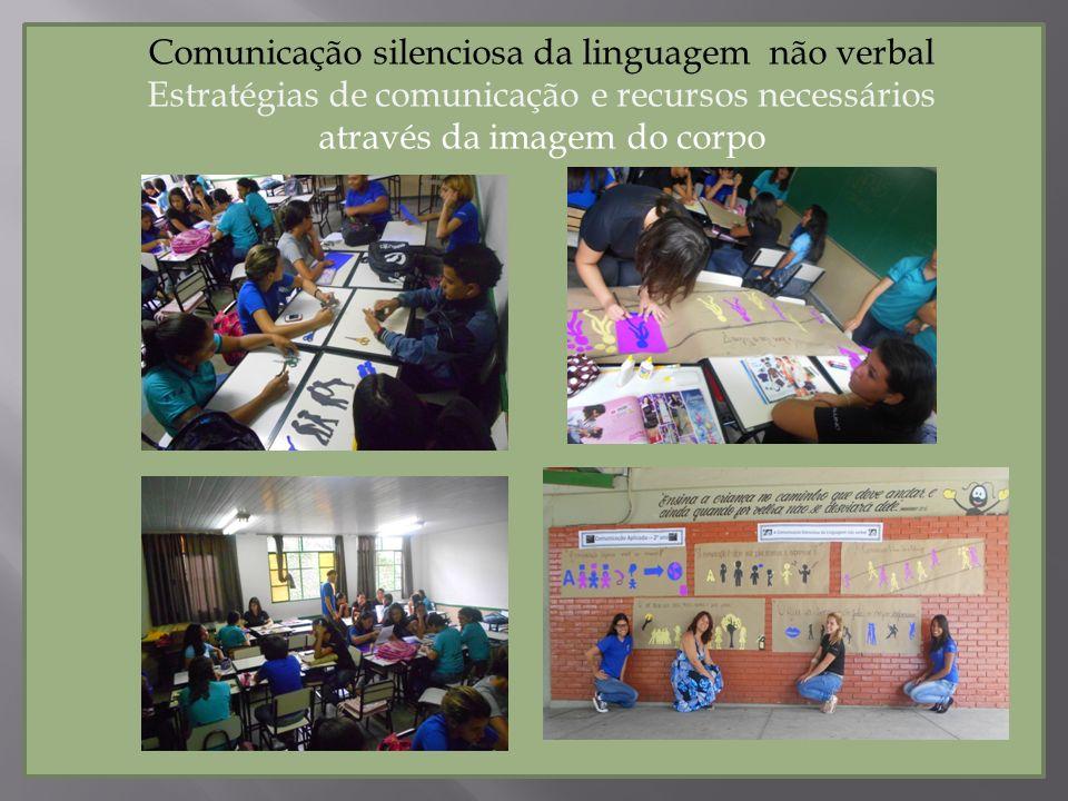 Comunicação silenciosa da linguagem não verbal Estratégias de comunicação e recursos necessários através da imagem do corpo
