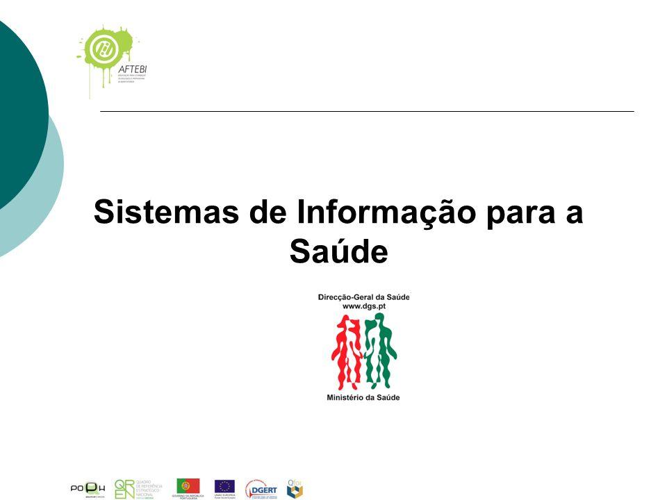 Sistemas de Informação para a Saúde Mod.AFTEBI.P-009.rev03