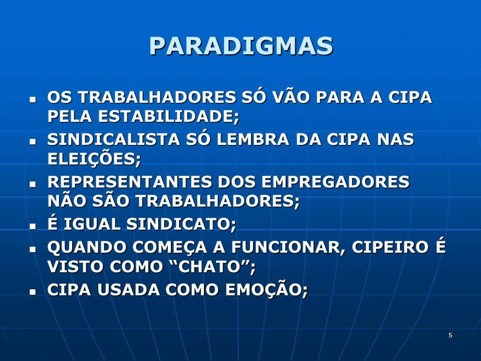 26 SITUAÇÕES ONDE AS NORMAS SÃO SUBJETIVAS OU INCOMPLETAS 17.2.3.