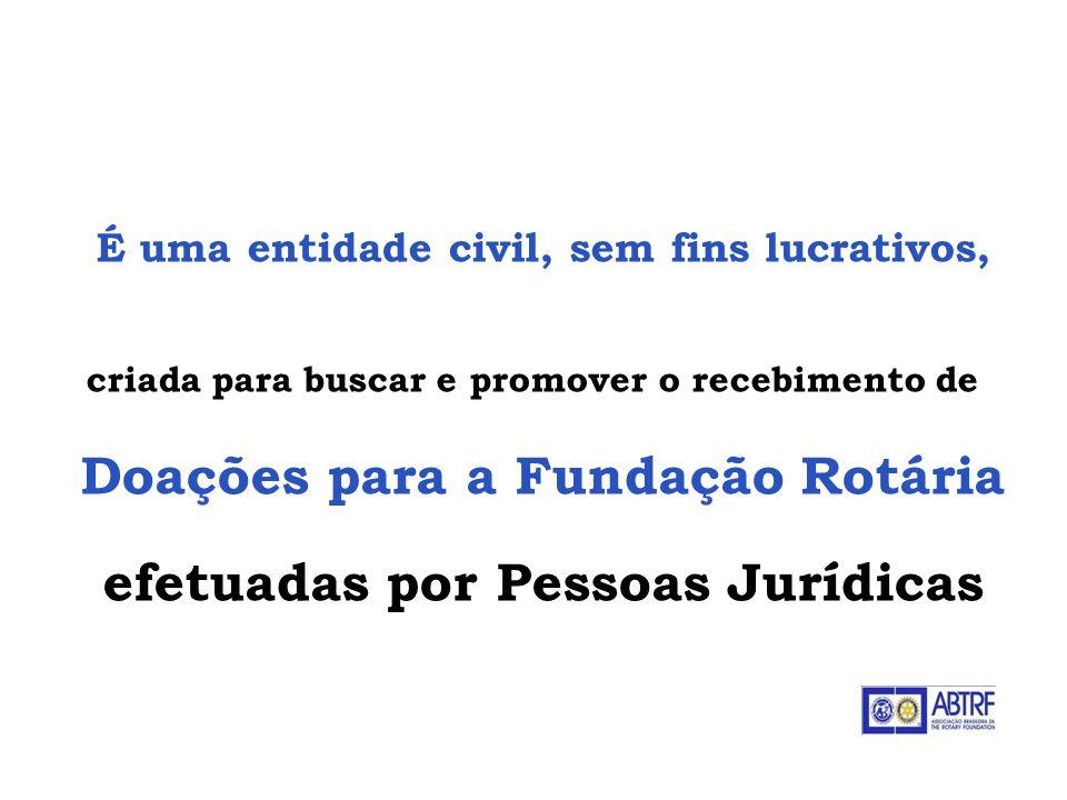 É uma entidade civil, sem fins lucrativos, criada para buscar e promover o recebimento de Doações para a Fundação Rotária efetuadas por Pessoas Jurídi