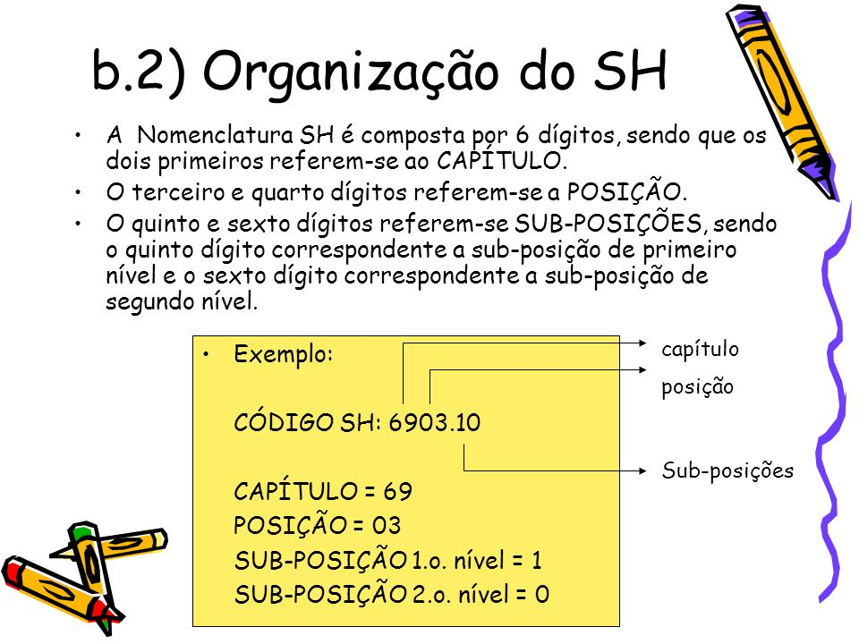 f) Procedimento para classificar 3.