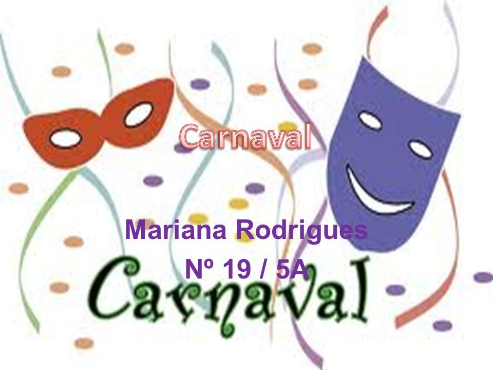 O que é o Carnaval.
