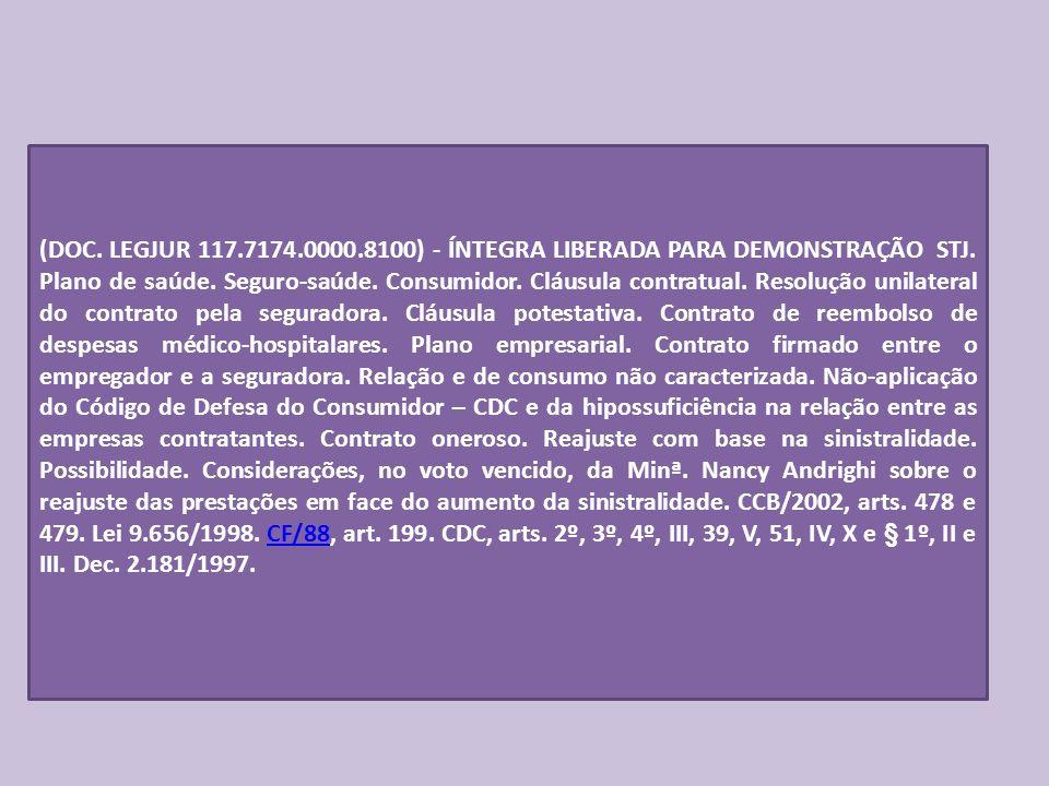 (DOC.LEGJUR 117.7174.0000.8100) - ÍNTEGRA LIBERADA PARA DEMONSTRAÇÃO STJ.