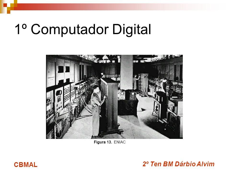 2º Ten BM Dárbio Alvim CBMAL 1º Computador Digital
