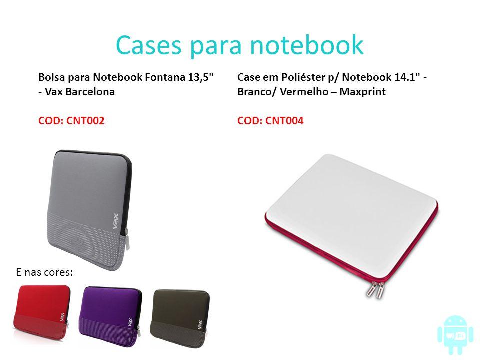 Cases para notebook Bolsa para Notebook Fontana 13,5